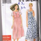 Simplicity 9581 EASY Misses' Pull-Over Summer Dress Sizes XS, S, M, L, XL UNCUT / FACTORY FOLDED