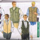 Butterick Classics 4484 Men's Vest - 5 Styles - Sizes L, XL - UNCUT / Factory Folded