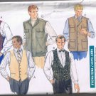 Butterick Classics 4484 Men's Vest - 5 Styles - Sizes XS, S, M - UNCUT / Factory Folded