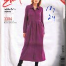 McCall's 3304 Stitch n Save Women's Dress Sizes 18W 20W 22W 24W - UNCUT