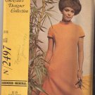McCall's 2497 -Designer Collection - Misses' Dress in Two Versions - Size 14 - UNCUT Factory Folded