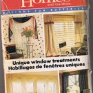 Better Homes & Gardens 6764 Window Treatments Sewing Pattern - CUT & COMPLETE