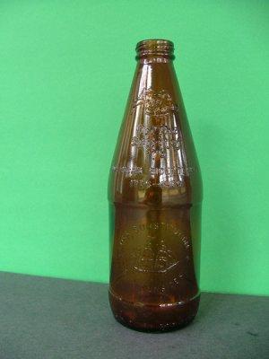 1976 Fyfe & Drum Embossed Bicentennial Beer Bottle � USS Constitution