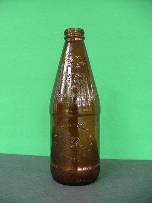 1976 Fyfe & Drum Embossed Bicentennial Beer Bottle � New York 1788
