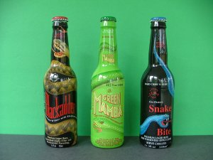 Blackadder, Green Mamba, & Snakebite � Premium Lager Beer with Fermented Apple Cider