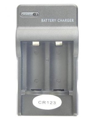 cr123 battery charger