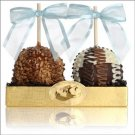 Chocolate Dipped Apple Duet