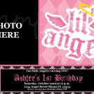 Lil Angel Birthday Invitation