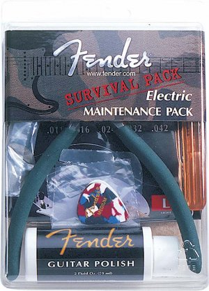 Fender Electric Guitar Survival Pack