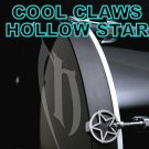 20 Custom Cool Hollow Star Claws Drum & percussion Bass Drum