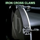 20 Custom Cool iron Claws Drum & percussion Bass Drum Hoop C