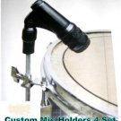 4 Custom Clamp Drum & percussion Drum Mic Holders
