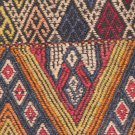 Turkish Nomadic Dowry or Grain Bag Kilim Embroidery