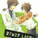 Katekyo Hitman Reborn doujinshi - 27x27 Life! by imju - Tsuna X Tsuna