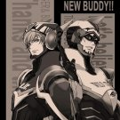 Tiger and Bunny doujinshi - A HAPPY NEW BUDDY!! by ESplus - Kotetsu X Barnaby