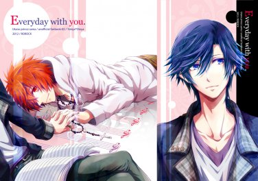 Uta no prince-sama doujinshi - Everyday with you. by ROROCK - Tokiya X Ittoki