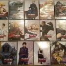 Fullmetal alchemist, dvd vol 1-13 + movie set