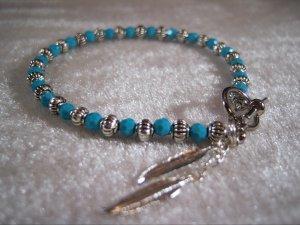 Turquoise Swarovski Bracelet