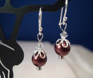 Chocolate Drops Sterling Silver