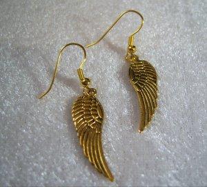 Golden Wings Earrings