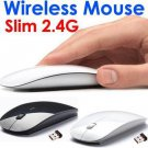 Slim 1600DPI Mini 2.4GHz 2.4G USB Wireless Optical Mouse Mice For Laptop PC