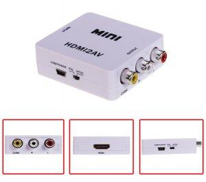 1080P HDMI to AV CVBS Composite Converter