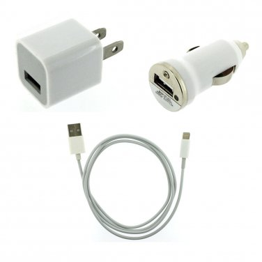 3 in 1 charger kit for iPhone 5 Ipod Touch5 Nano 7 ipad 4 ipad mini