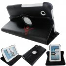 "360 Rotating PU Leather Case Cover For Samsung Galaxy Tab 3 7"" P3200"
