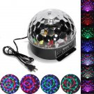 Disco DJ Xmas KTV Club Stage Lighting Digital LED Crystal Magic Ball Light Party