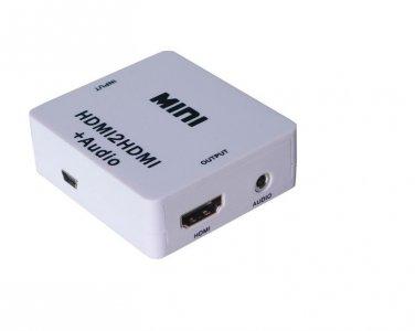 HDMI to HDMI +  R/L audio converter