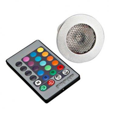 E27 3W RGB LED Bulb Light Lamp Spotlight with Remote Control