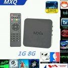 Unlocked MXQ Android TV Box Quad Core FULLY LOADED KODI XBMC S805 MBOX 4.4 FREE TV MOVIES
