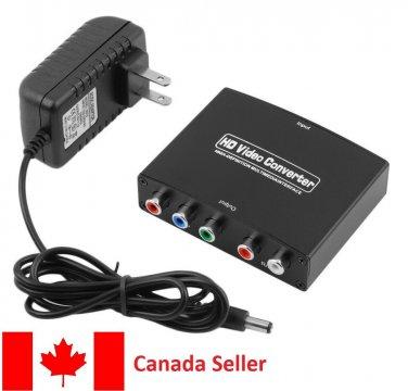 1080P HDMI to YPbPr+ R/L audio converter