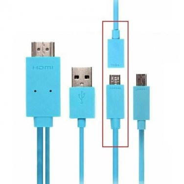 5pin &11pin USB MHL To HDMI HDTV 1080P AV Adapter Cable For Android Phone Tablet