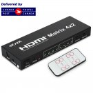 4K*2K    4x2 HDMI Matrix Switch