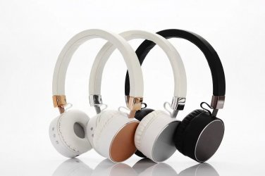 BLUETOOTH HEADPHONES,WIRELESS HI-FI HEADSET WITH MICROPHONES LIGHT WEIGHT