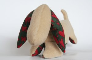 Aromatherapy stuffed toy: DACHSHUND WIENER DOG, Made to Order