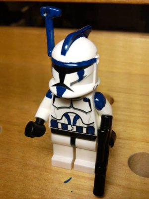 Lego Star Wars Custom Commander Denal Clone WarsTrooper