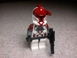 Lego Star Wars Custom Commander Stone