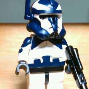 Lego Star Wars Custom Commander Wolffe with Phase 2 Armor