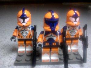 Lego Star Wars Clone Wars Bomb Squad Commanders