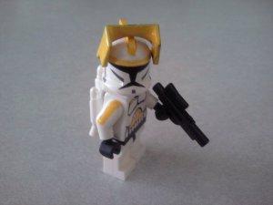 Lego Star Wars Custom Clone Marshall Commander Cody with Jetpack