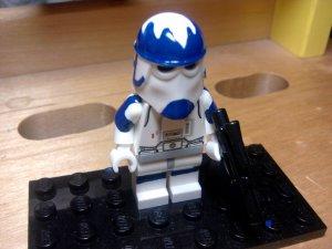 Lego Star Wars Commander Ry Snow Trooper