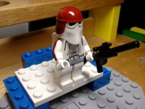 Lego Star Wars Galactic Marine Snow Trooper