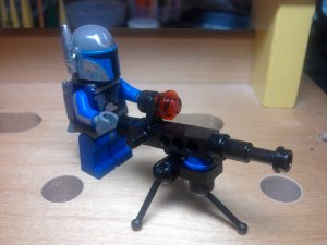 Lego Star Wars Pre-Vizsla Mandolorian Death Watch Commander