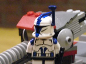 Lego Star Wars Custom Limited Ed. Clone Commander Appo