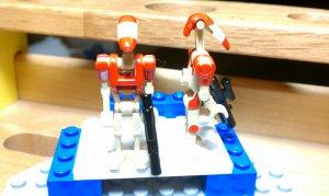 Lego Star Wars Custom B1 Battle Droids Bomb Squad