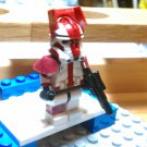 Lego Star Wars Custom Commander Deviss in Phase 2 Armor Clone Wars Trooper