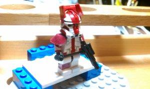 Lego Star Wars Custom Commander Deviss in Phase 2 Armor Clone Wars Trooper