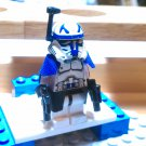 Lego Star Wars Custom Commander Rex Phase 2 Armor Clone Wars Trooper